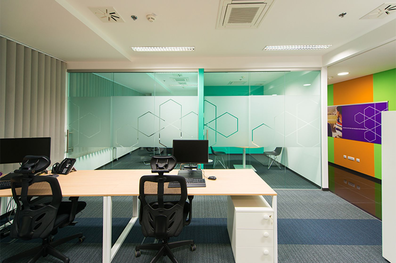 Conference room at AbbVie Croatia office.